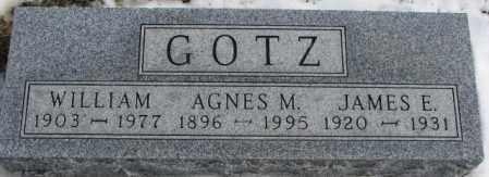 GOTZ, WILLIAM - Turner County, South Dakota | WILLIAM GOTZ - South Dakota Gravestone Photos