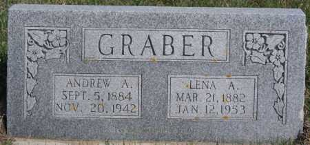 GRABER, LENA A - Turner County, South Dakota | LENA A GRABER - South Dakota Gravestone Photos