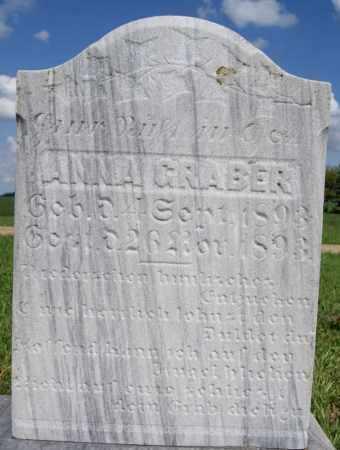 GRABER, ANNA - Turner County, South Dakota   ANNA GRABER - South Dakota Gravestone Photos