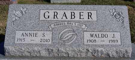 GRABER, ANNIE S - Turner County, South Dakota | ANNIE S GRABER - South Dakota Gravestone Photos