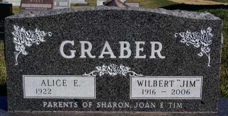 GRABER, WILBERT - Turner County, South Dakota   WILBERT GRABER - South Dakota Gravestone Photos
