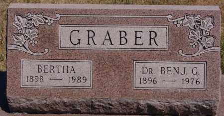 GRABER, BERTHA - Turner County, South Dakota | BERTHA GRABER - South Dakota Gravestone Photos