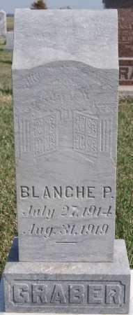 GRABER, BLANCHE P - Turner County, South Dakota | BLANCHE P GRABER - South Dakota Gravestone Photos
