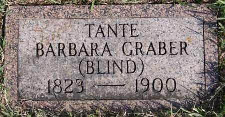 GRABER, BARBARA - Turner County, South Dakota | BARBARA GRABER - South Dakota Gravestone Photos