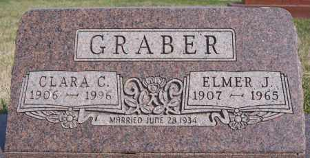 GRABER, ELMER J - Turner County, South Dakota | ELMER J GRABER - South Dakota Gravestone Photos
