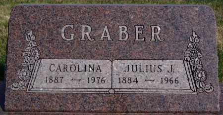 GRABER, CAROLINA - Turner County, South Dakota | CAROLINA GRABER - South Dakota Gravestone Photos