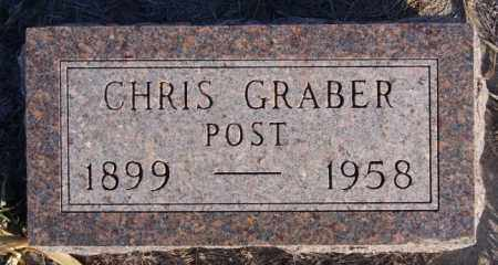 GRABER, CHRIS POST - Turner County, South Dakota   CHRIS POST GRABER - South Dakota Gravestone Photos