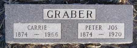 GRABER, CARRIE - Turner County, South Dakota | CARRIE GRABER - South Dakota Gravestone Photos
