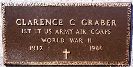 GRABER, CLARENCE C (WWII) - Turner County, South Dakota | CLARENCE C (WWII) GRABER - South Dakota Gravestone Photos