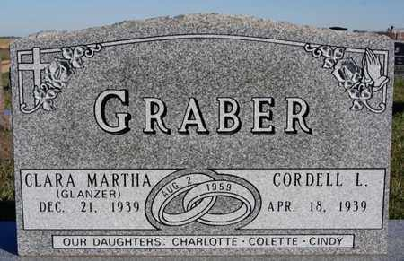 GRABER, CORDELL L - Turner County, South Dakota | CORDELL L GRABER - South Dakota Gravestone Photos