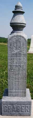 GRABER, CAROLINE P - Turner County, South Dakota   CAROLINE P GRABER - South Dakota Gravestone Photos
