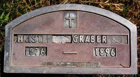 GRABER, CHRIST - Turner County, South Dakota | CHRIST GRABER - South Dakota Gravestone Photos