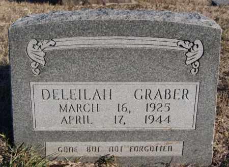 GRABER, DELEILAH - Turner County, South Dakota | DELEILAH GRABER - South Dakota Gravestone Photos