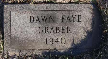 GRABER, DAWN FAYE - Turner County, South Dakota | DAWN FAYE GRABER - South Dakota Gravestone Photos