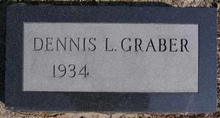 GRABER, DENNIS L - Turner County, South Dakota   DENNIS L GRABER - South Dakota Gravestone Photos