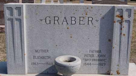 GRABER, ELIZABETH - Turner County, South Dakota | ELIZABETH GRABER - South Dakota Gravestone Photos
