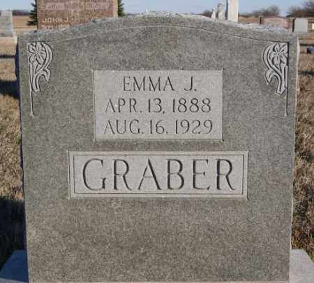GRABER, EMMA J - Turner County, South Dakota | EMMA J GRABER - South Dakota Gravestone Photos