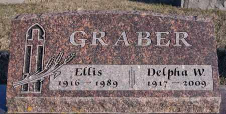 GRABER, ELLIS - Turner County, South Dakota | ELLIS GRABER - South Dakota Gravestone Photos