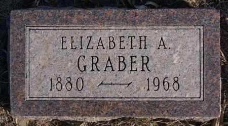 GRABER, ELIZABETH A - Turner County, South Dakota | ELIZABETH A GRABER - South Dakota Gravestone Photos
