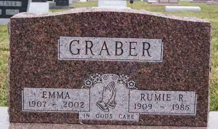 GRABER, EMMA - Turner County, South Dakota | EMMA GRABER - South Dakota Gravestone Photos