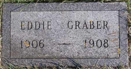 GRABER, EDDIE - Turner County, South Dakota | EDDIE GRABER - South Dakota Gravestone Photos