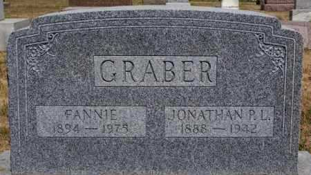 GRABER, JONATHAN P L - Turner County, South Dakota | JONATHAN P L GRABER - South Dakota Gravestone Photos