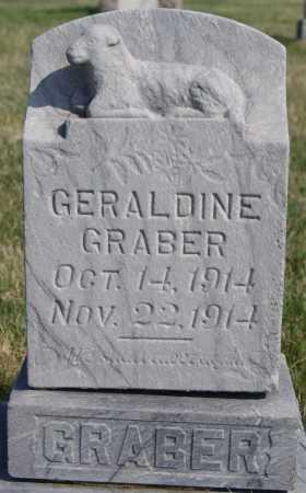 GRABER, GERALDINE - Turner County, South Dakota | GERALDINE GRABER - South Dakota Gravestone Photos