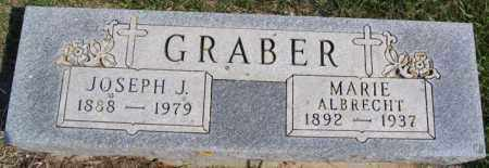 ALBRECHT GRABER, MARIE - Turner County, South Dakota | MARIE ALBRECHT GRABER - South Dakota Gravestone Photos