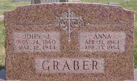 GRABER, ANNA - Turner County, South Dakota | ANNA GRABER - South Dakota Gravestone Photos