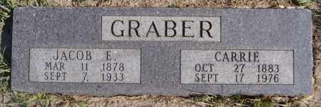 GRABER, JACOB E - Turner County, South Dakota | JACOB E GRABER - South Dakota Gravestone Photos