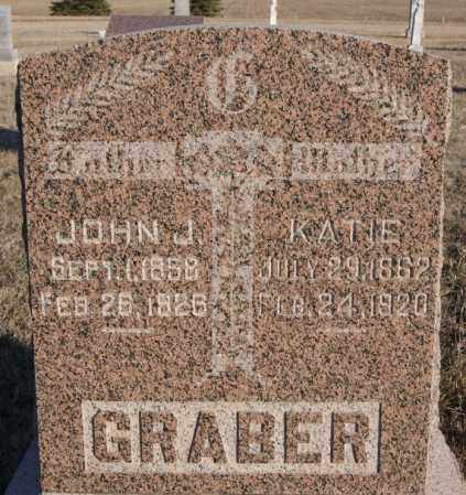 GRABER, KATIE - Turner County, South Dakota | KATIE GRABER - South Dakota Gravestone Photos