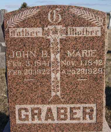GRABER, MARIE - Turner County, South Dakota | MARIE GRABER - South Dakota Gravestone Photos
