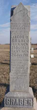 GRABER, JACOB B - Turner County, South Dakota   JACOB B GRABER - South Dakota Gravestone Photos