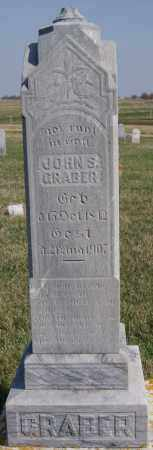 GRABER, JOHN S - Turner County, South Dakota | JOHN S GRABER - South Dakota Gravestone Photos