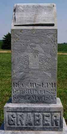 GRABER, JOSEPH - Turner County, South Dakota | JOSEPH GRABER - South Dakota Gravestone Photos