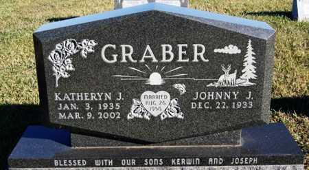 GRABER, JOHNNY J - Turner County, South Dakota   JOHNNY J GRABER - South Dakota Gravestone Photos