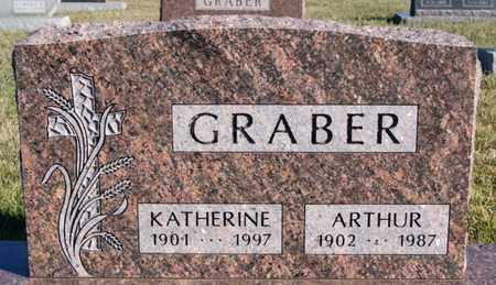 GRABER, ARTHUR - Turner County, South Dakota | ARTHUR GRABER - South Dakota Gravestone Photos