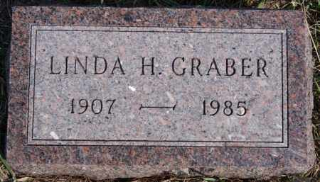 GRABER, LINDA H - Turner County, South Dakota | LINDA H GRABER - South Dakota Gravestone Photos