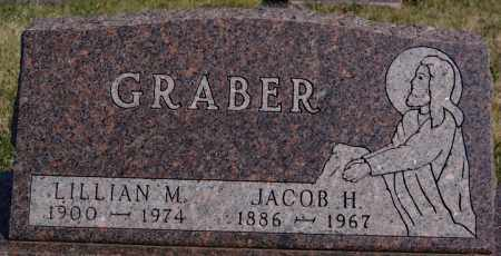 GRABER, JACOB H - Turner County, South Dakota | JACOB H GRABER - South Dakota Gravestone Photos