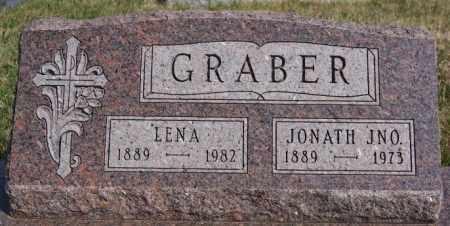 GRABER, LENA - Turner County, South Dakota | LENA GRABER - South Dakota Gravestone Photos