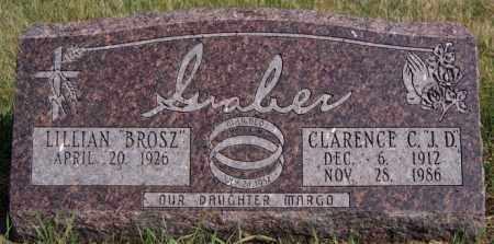 BROSZ GRABER, LILLIAN - Turner County, South Dakota | LILLIAN BROSZ GRABER - South Dakota Gravestone Photos