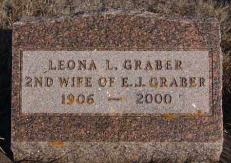 GRABER, LEONA L - Turner County, South Dakota | LEONA L GRABER - South Dakota Gravestone Photos