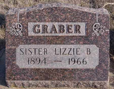 GRABER, LIZZIE B - Turner County, South Dakota   LIZZIE B GRABER - South Dakota Gravestone Photos