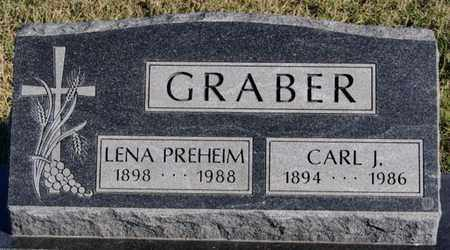 PREHEIM GRABER, LENA - Turner County, South Dakota | LENA PREHEIM GRABER - South Dakota Gravestone Photos
