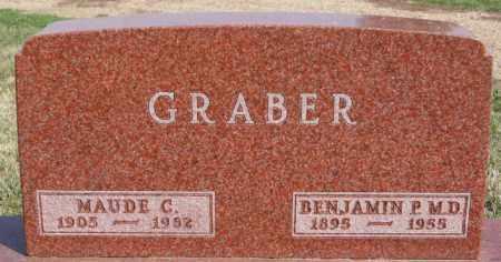 GRABER, BENJAMIN P - Turner County, South Dakota | BENJAMIN P GRABER - South Dakota Gravestone Photos