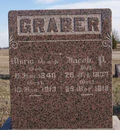 GRABER, JACOB P - Turner County, South Dakota | JACOB P GRABER - South Dakota Gravestone Photos