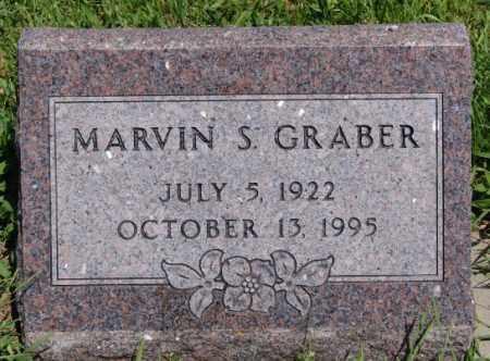 GRABER, MARVIN S - Turner County, South Dakota | MARVIN S GRABER - South Dakota Gravestone Photos