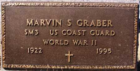 GRABER, MARVIN S (WWII) - Turner County, South Dakota | MARVIN S (WWII) GRABER - South Dakota Gravestone Photos