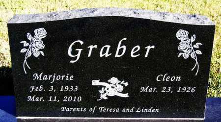 GRABER, MARJORIE - Turner County, South Dakota | MARJORIE GRABER - South Dakota Gravestone Photos