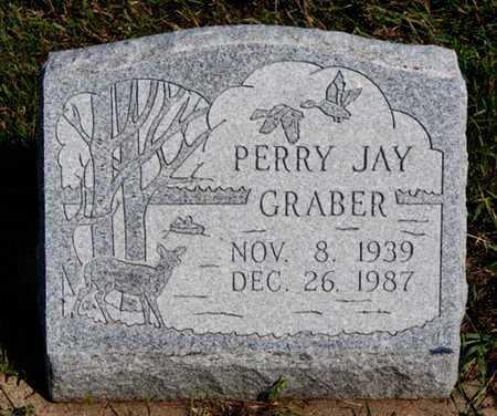 GRABER, PERRY JAY - Turner County, South Dakota | PERRY JAY GRABER - South Dakota Gravestone Photos
